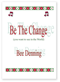 'Be The Change' book cover